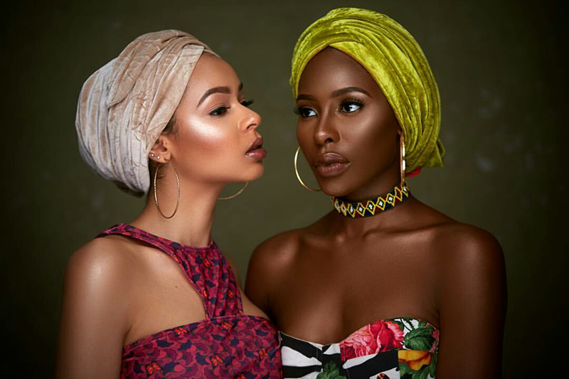 Beautiful Headwrap Editorial Shoot By Prince Meyson