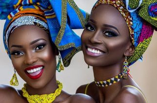 Glamorous African Queen Beauty Photo Shoot By Prince Meyson