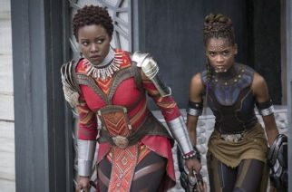 Lupita Nyong'o and Letitia Wright played Nakia and Shuri in Coogler's film
