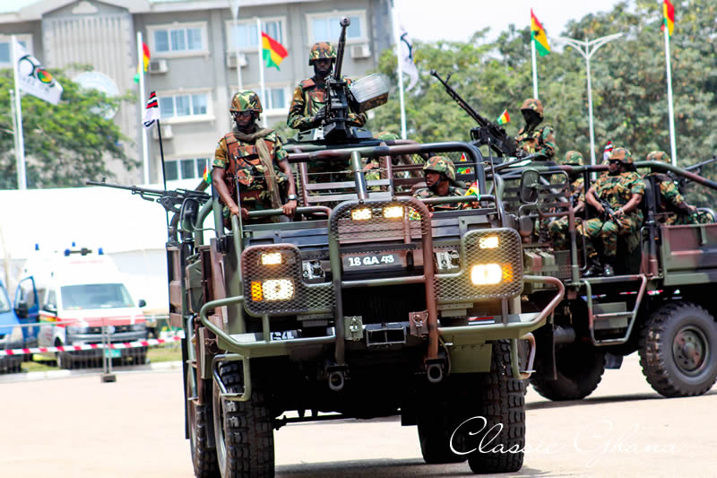 Independence Day troops not being starved, treated shabbily – Ghana Armed Forces
