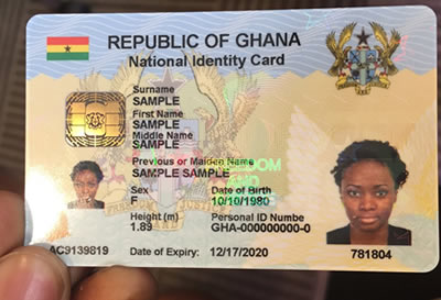 Mass Registration For Ghana Card Begins On April 29 – National Identification Authority