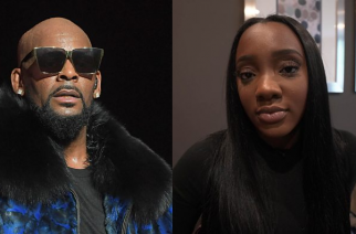 R Kelly and Faith Rodgers, who accuses him of sexual assault