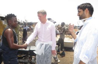 British High Commissioner Visits Agbogloshie E-Waste Dumping Site