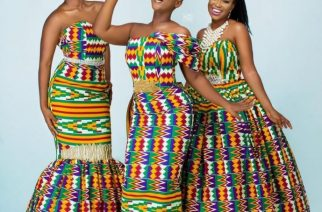 Amazing Kente Outfits By Ace Ghanaian Designer Afriken By Nana