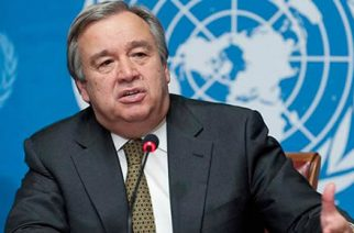 Mr Antonio Guterres - United Nations Secretary General