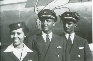 Captain Alemayehu Abebe (middle)