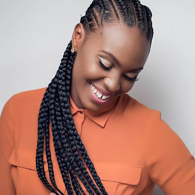 'The Braid Up': How To Create These Two Freestyle Stitch Braids