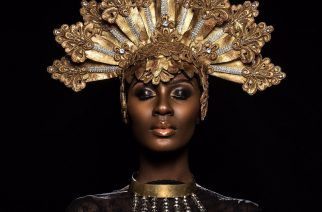 Photographer Amazingly Turns Ghanaian Model Into An Astonishing Vision To Behold In Editorial
