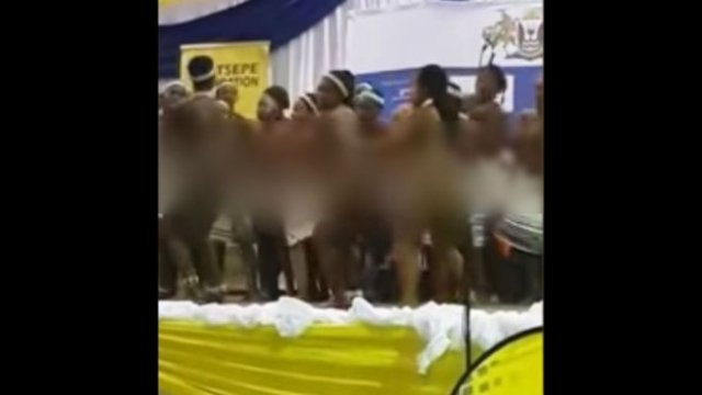 South Africa Outrage Over 'Naked' School Choir Performance