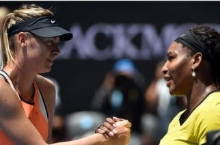 Sharapova and Williams last met at the 2016 Australian Open with the American winning in straight sets