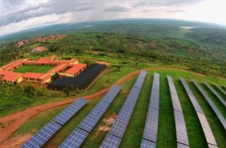 This $24m project is the first utility-scale, grid-connected, commercial solar field in east Africa that has increased Rwanda's generation capacity by 6%. Photograph: Sameer Halai/SunFunder/Gigawatt Global