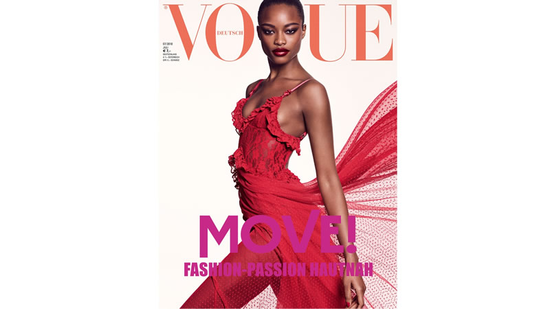 Nigerian Model Mayowa Nicholas Landed Her First Vogue Cover