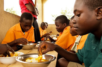 Ghana School Feeding Programme To Source Products From Local Factories Set Up Under 1D1F