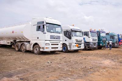 Tanker Drivers Embark On Sit Down Strike