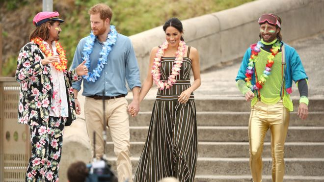 Royal Tour: Harry And Meghan Brighten Up Bondi Beach