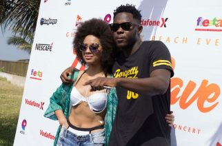 Sister Derby and Medikal in happier times