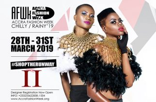 "Accra Fashion Week CR19 Dates Out; ""Event Will Focus On Ghanaian Brands That Appeal To The Public"""