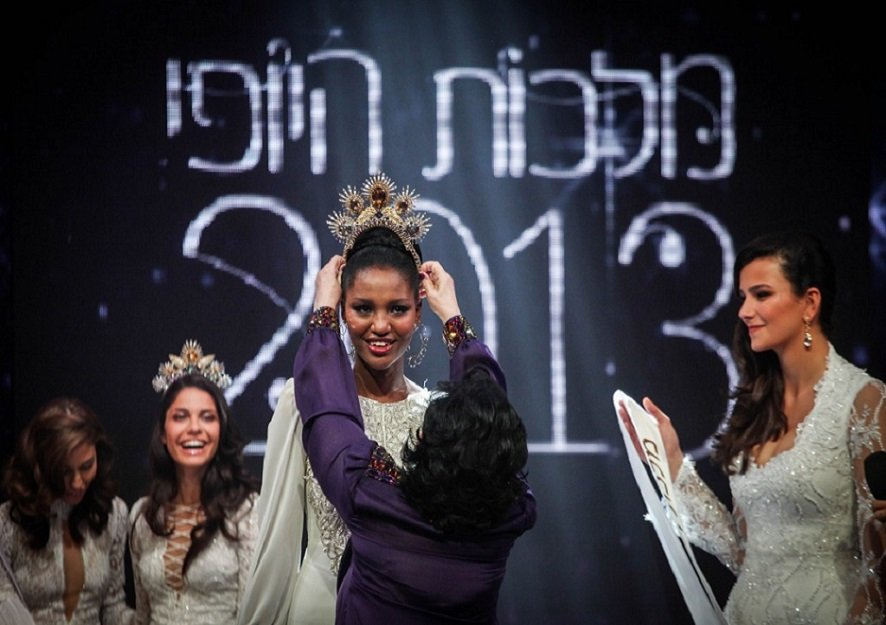 Meet The Orphaned Ethiopian Girl Who Became The First Black Miss Israel At 21