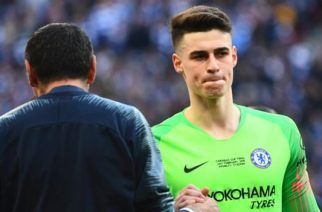 Chelsea signed Kepa Arrizabalaga from Athletic Bilbao for a club record £71m in August 2018
