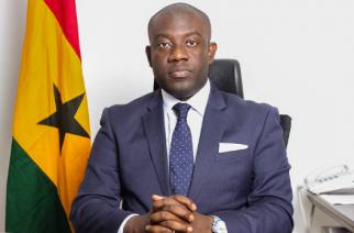 Ghana's Minister of Information Kojo Oppong Nkrumah