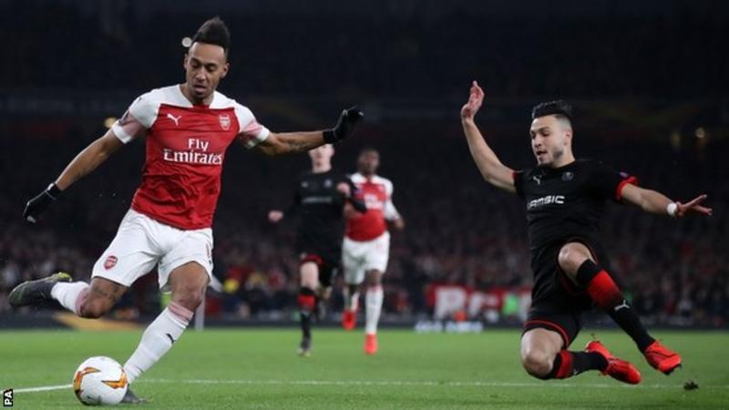 Europa League: Arsenal Play Napoli And Chelsea Face Slavia Prague In Quarter-Finals