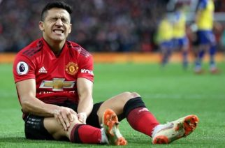 Sanchez was injured during Saturday's win against Southampton