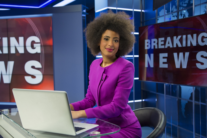 News Anchor Flaunts Natural Hair For The First Time Ever To Empower Her Daughter