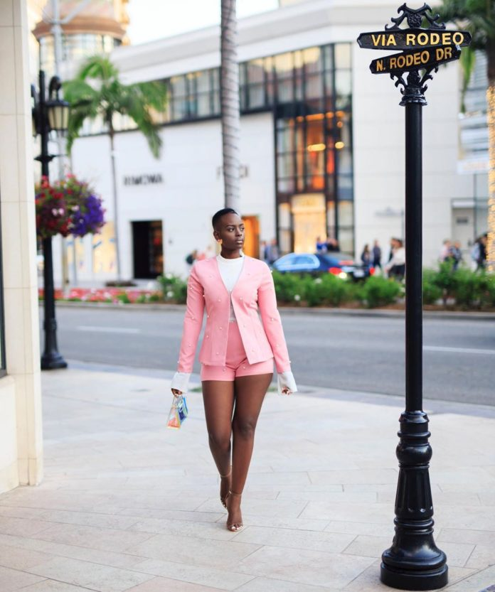 Ugandan Beauty Bettinah Shows How To Serve Pink From The Red Carpet To The Streets