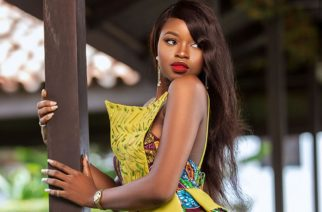 Ghanaian Designer Bombaare Dropped This Amazing African Print Wedding Guest Dress