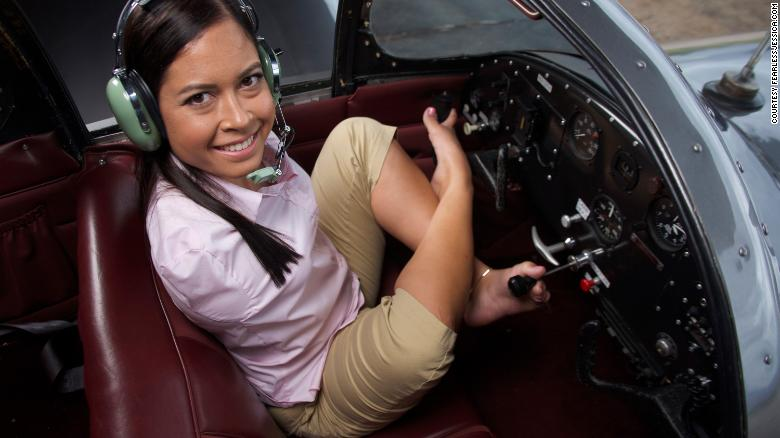 She Learned To fly A Plane With Just Her Feet. Now, Jessica Cox Is Inspiring Women In Aviation Around The World