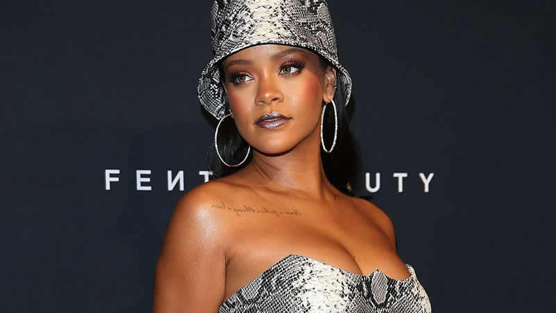 Rihanna Takes New York Fashion Week Into The Streaming Age