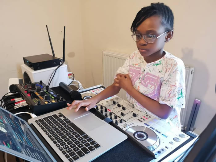 Meet DJ Zel, The Youngest Ghanaian – UK Based International DJ