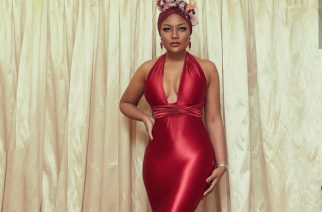 Lady In Red: Sandra Ankobia Stuns In A Gorgeous Wedding Guest Look