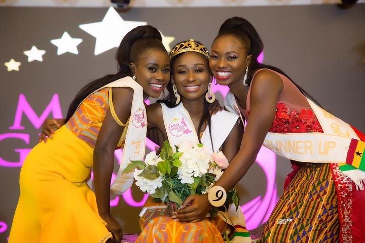 Rebecca Kwabi Wears Miss Ghana 2019 Crown