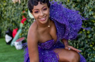 South African Rapper, Boity In A Purple Number Outfit At The #VDJ2019