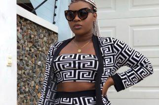 Ghanaian Slay Queen In A Fabulous Monochrome Fashion Goals