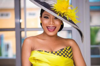 Ghanaian Designer, Sima Brew Brings A Perfect Outfit For Actress  Zynnelle Zuh