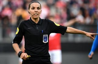 Stéphanie Frappart: will take charge of match between English clubs in Istanbul. Photograph: Franck Fife/AFP/Getty Images