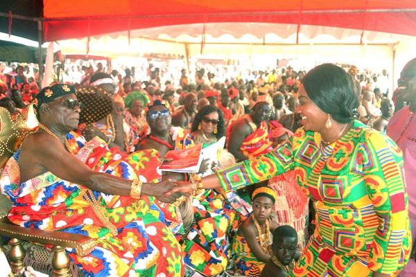 Grand Durbar Climaxes Akwambo Festival