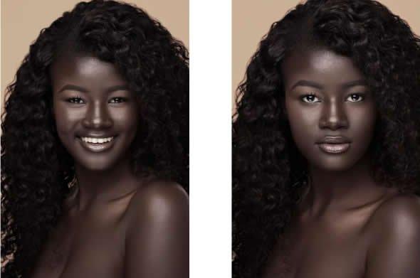 Meet The Model Whose Skin Tone Made Her A Social Media Sensation