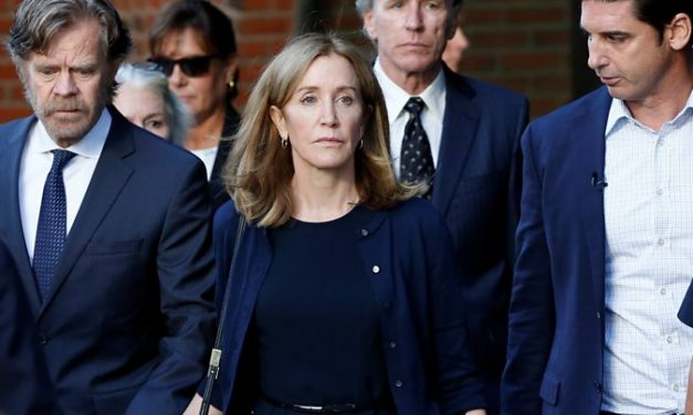 Felicity Huffman Handed Prison Time Over College Admissions Scandal