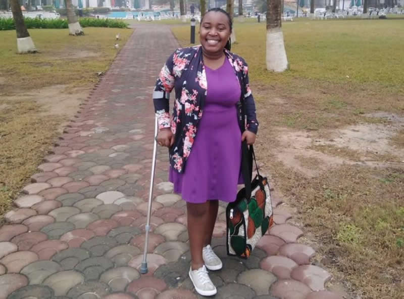 Year of Return: Disabled Lady Narrates Her Bitter Experience After Visiting Ghana