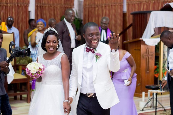 'We Met On Facebook' – Ghanaian Couple Celebrates Marriage Anniversary