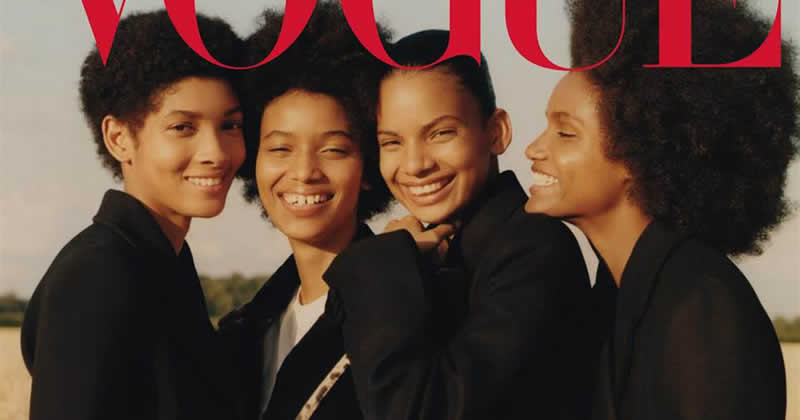 4 Afro-Dominican Models Make History By Appearing On Historic Cover Of Vogue