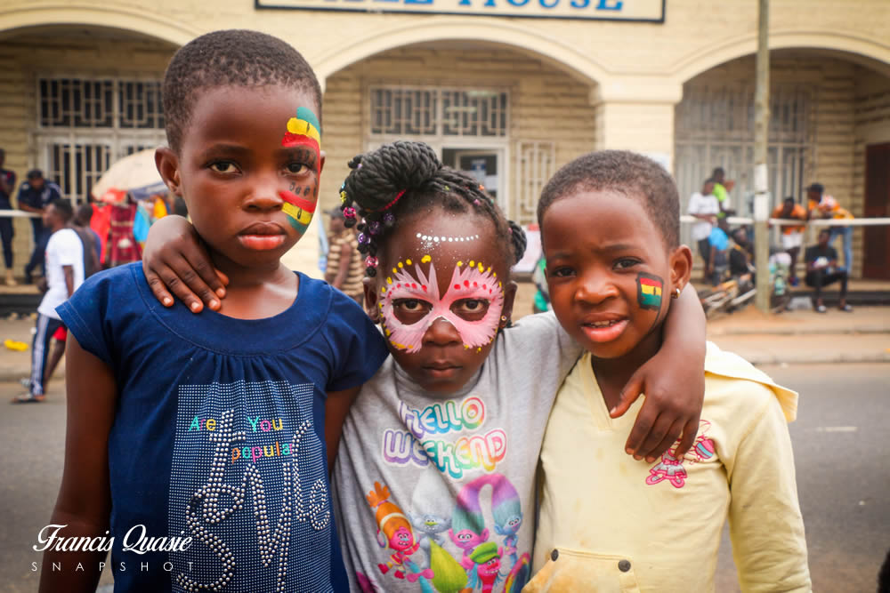 Chale Wote Street Art Festival: Kids, Fun & Painting