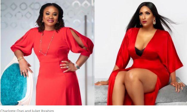 Juliet Ibrahim Calls On Charlotte Osei To Help Celebrities Fight Against Fake News