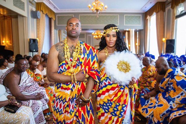 Ghanaian Traditional Glamour In Netherlands Wedding
