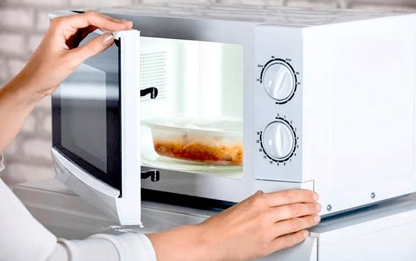 Peeping Through Microwaves Dangerous