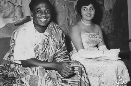 Nkrumah and Fathia at a state function Photo Credit: Unsponsoredopinion.co.za