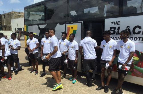 Black Stars Arrive In Cape Coast To Continue Preps For South Africa Clash